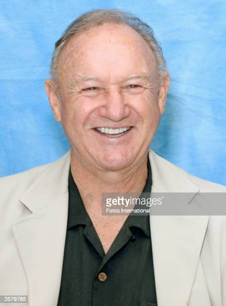 OUT*** Actor Gene Hackman attends the press conference for his latest film Runaway Jury at the Wyndham Hotel September 19 2003 in New Orleans...