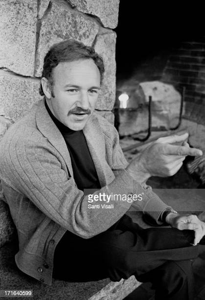Actor Gene Hackman during a press conference on October 291969 in Reno Nevada