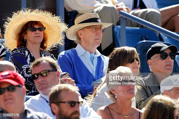 Actor Gene Wilder attends day thirteen of the 2010 US Open at the USTA Billie Jean King National Tennis Center on September 11 2010 in the Flushing...