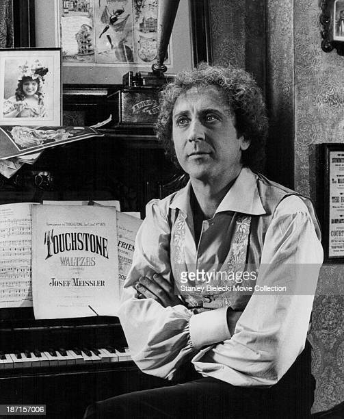 Actor Gene Wilder in a scene from the film 'The Adventures of Sherlock Holmes' Smarter Brother', 1975.