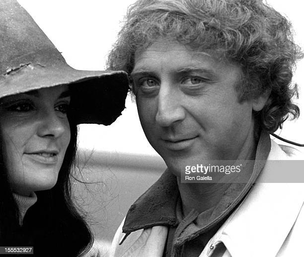 Actor Gene Wilder sighted on location filming Two By Two on October 1, 1968 in Paris, France.