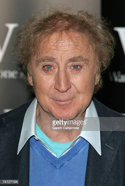 Actor Gene Wilder signs copies of his debut novel, My French Whore at Waterstones in Picadilly on May 11, 2007 in London, England.