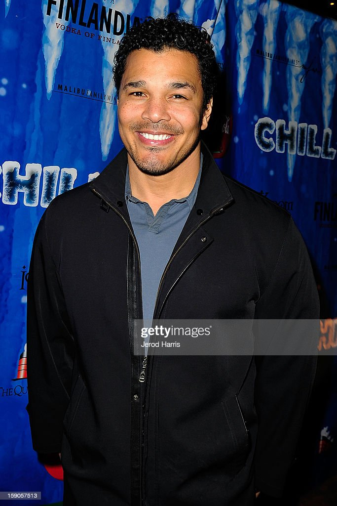 Actor Geno Segers arrives at the CHILL-OUT closing night concert at The Queen Mary on January 6, 2013 in Long Beach, California.