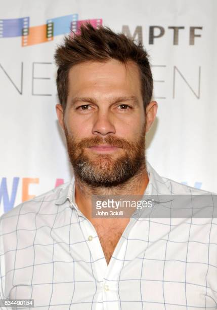 Actor Geoff Stults attends MPTF's NextGen Summer Party presented by Ford Motor Company and hosted by Jeffrey Katzenberg at NeueHouse Los Angeles on...