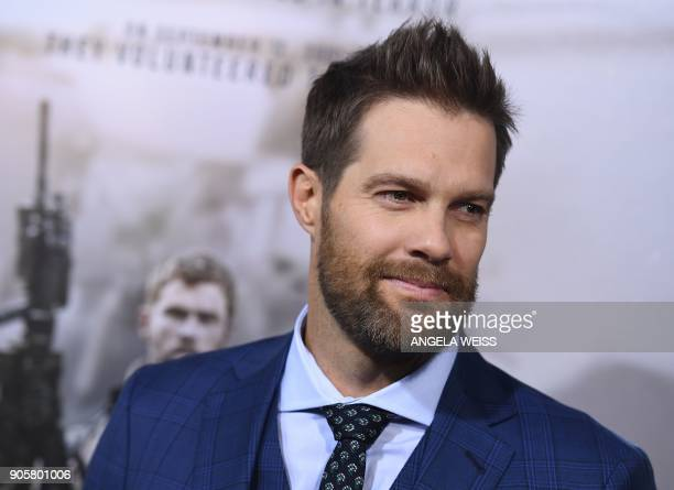 Actor Geoff Stults attends the world premiere of '12 Strong' at Jazz at Lincoln Center on January 16 in New York City / AFP PHOTO / ANGELA WEISS