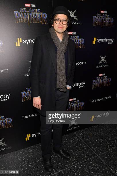 Actor Geoffrey Arend attends the screening of Marvel Studios' 'Black Panther' hosted by The Cinema Society on February 13 2018 in New York City