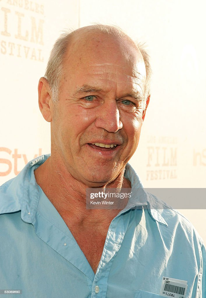 Actor Geoffrey Lewis arrives at the screening of the film 'Down in the Valley' which kicks of the opening night of the Los Angeles Film Festival at the ArcLight Cinerama Dome on June 16, 2005 in Hollywood, California.