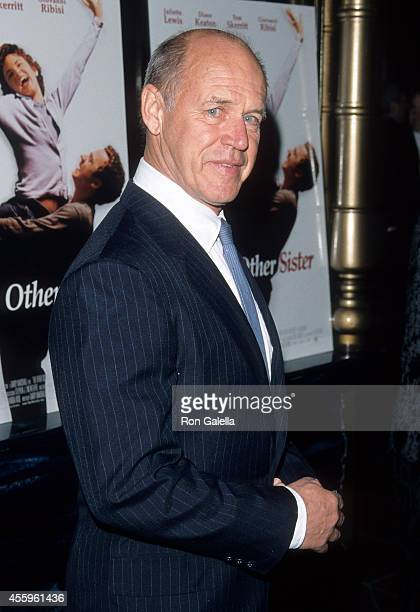 Actor Geoffrey Lewis attends 'The Othe Sister' Hollywood Premiere on March 1 1999 at the El Capitan Theatrein Hollywood California