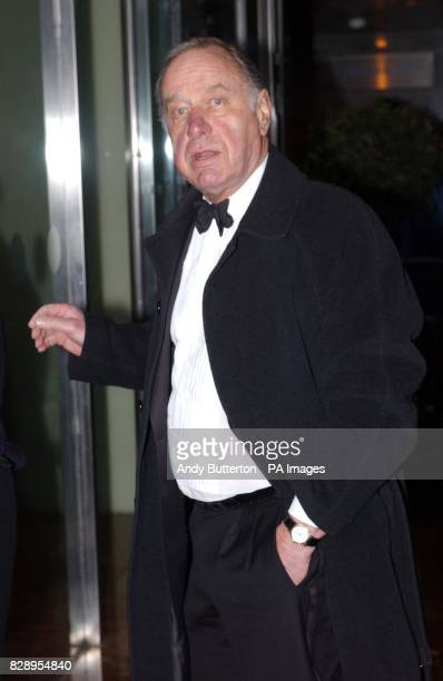 Actor Geoffrey Palmer arrive for the Laurence Olivier Awards at the London Hilton