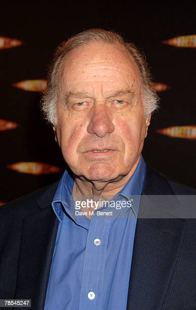 Actor Geoffrey Palmer attends the gala screening of the 'Doctor Who' Christmas episode at the Science Museum December 18 2007 in London England