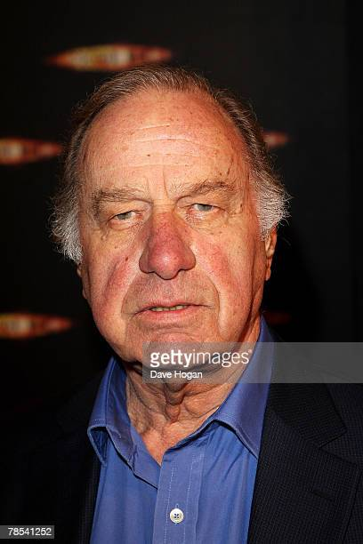 Actor Geoffrey Palmer attends the gala screening of the 'Dr Who' Christmas episode at the Science Museum on December 18 2007 in London England