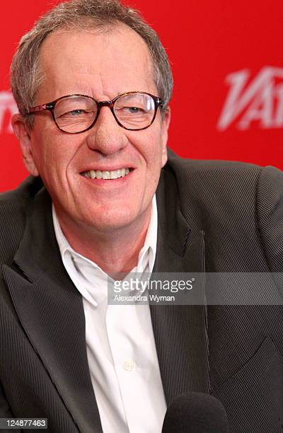 Actor Geoffrey Rush attends day 4 of The Variety Studio Presented by Nintendo 3DS at Holt Renfrew during the 2011 Toronto International Film Festival...