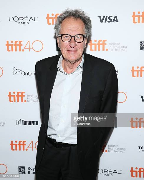 Actor Geoffrey Rush attends the 2015 Toronto International Film Festival photo call for 'The Daughter' at the Winter Garden Theatre on September 11...