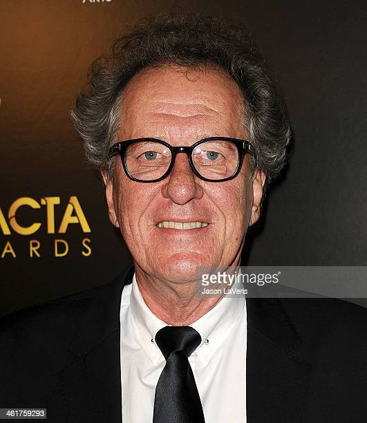 Actor Geoffrey Rush attends the 3rd annual AACTA International Awards at Sunset Marquis Hotel Villas on January 10 2014 in West Hollywood California