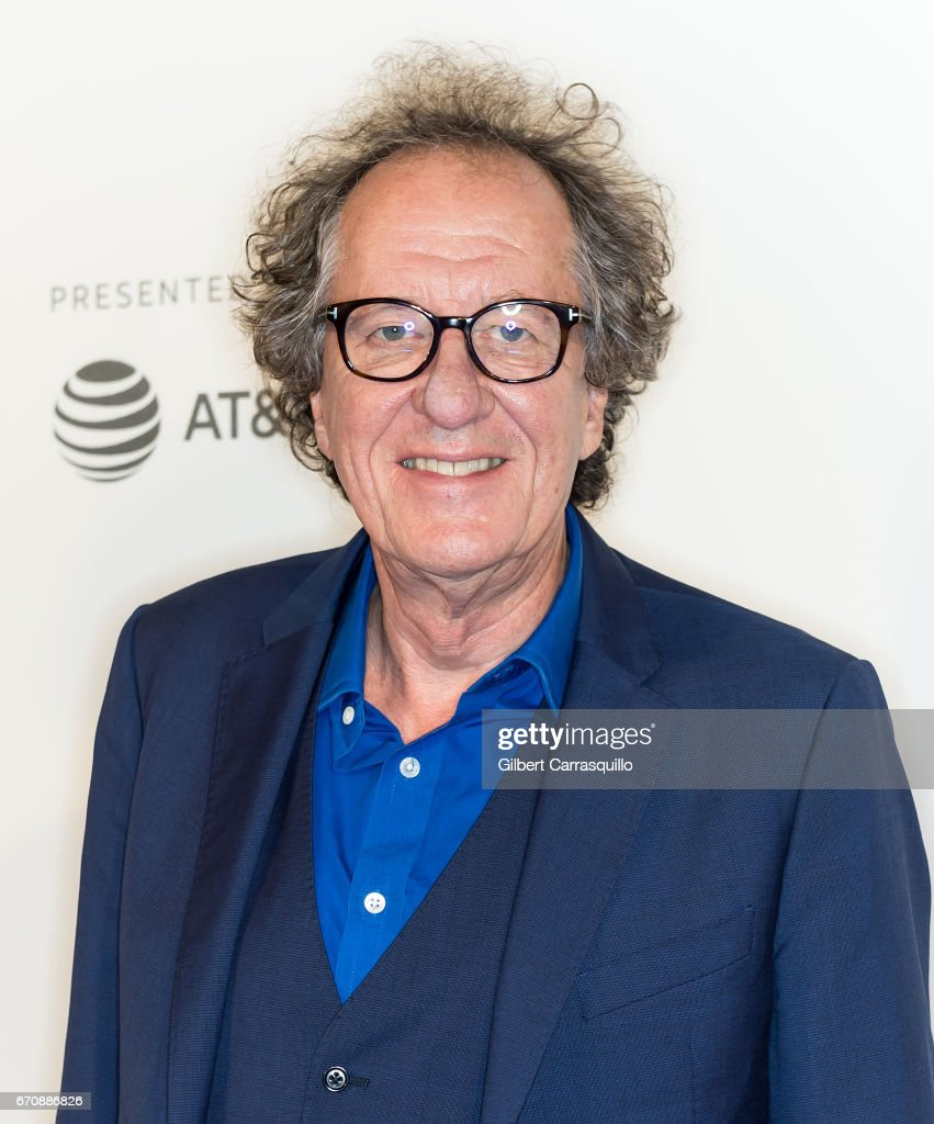 Actor Geoffrey Rush attends the 'Genius' Premiere during the 2017 Tribeca Film Festival at BMCC Tribeca PAC on April 20, 2017 in New York City.