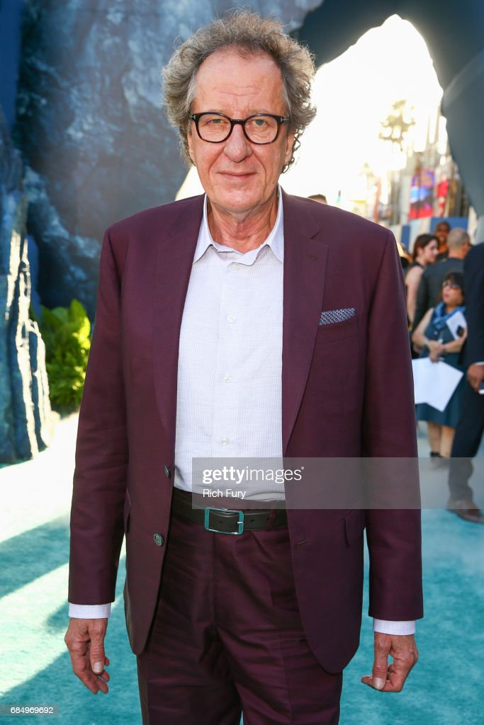 Actor Geoffrey Rush attends the premiere of Disney's 'Pirates Of The Caribbean: Dead Men Tell No Tales' at Dolby Theatre on May 18, 2017 in Hollywood, California.