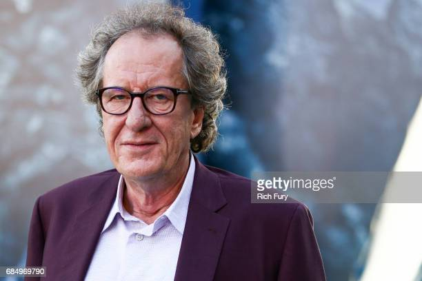 Actor Geoffrey Rush attends the premiere of Disney's 'Pirates Of The Caribbean Dead Men Tell No Tales' at Dolby Theatre on May 18 2017 in Hollywood...