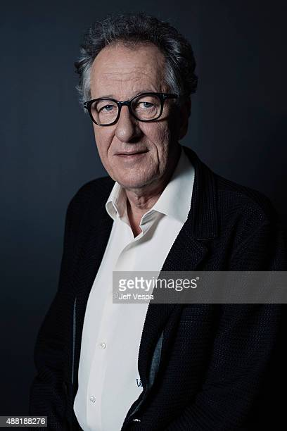 Actor Geoffrey Rush of 'The Daughter' poses for a portrait at the 2015 Toronto Film Festival at the TIFF Bell Lightbox on September 12 2015 in...
