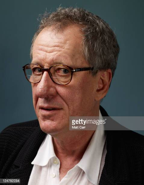 Actor Geoffrey Rush of 'The Eye Of The Storm' poses during the 2011 Toronto Film Festival at Guess Portrait Studio on September 12 2011 in Toronto...