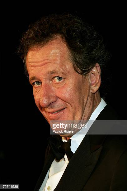 Actor Geoffrey Rush poses in the awards room at the L'Oreal Paris AFI 2006 Industry Awards at the Melbourne Exhibition Centre on December 6 2006 in...