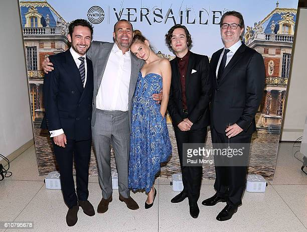 Actor George Blagden Cocreator/Exec Producer Simon Mirren Actress Noemie Schmidt Actor Alexander Vlahos and Cocreator/Exec Producer David...