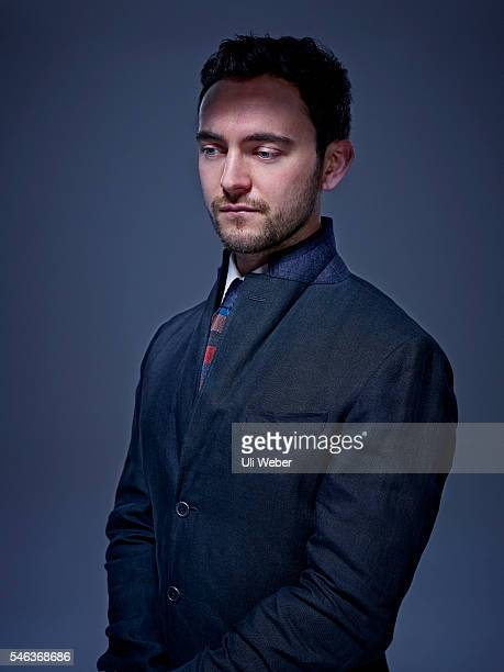 Actor George Blagden is photographed for 1843 magazine on January 18 2016 in London England