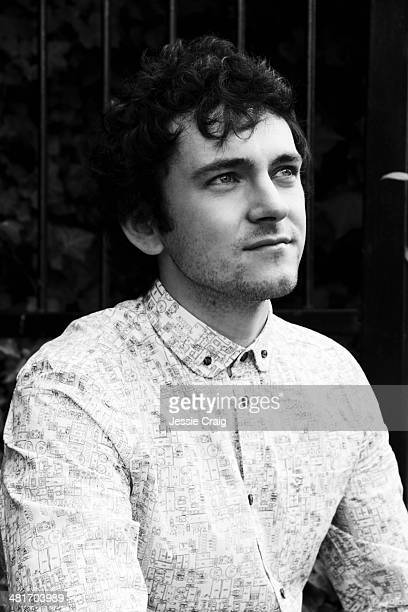 Actor George Blagden is photographed for SID magazine on April 27 2013 in London England