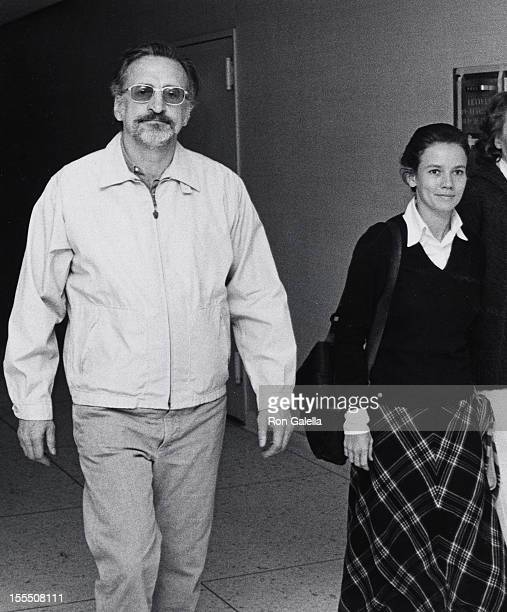 Actor George C Scott and actress Trish Van Devere attend the preview performance of Uncle Vanya on May 26 1973 at the Circle in the Square Theater in...