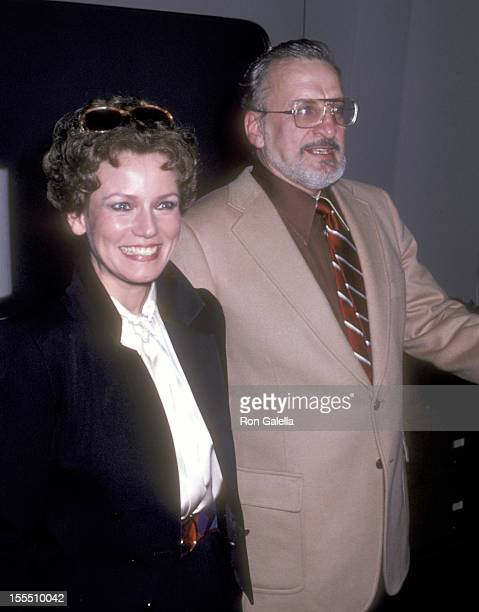 Actor George C Scott and wife actress Trish Van Devere attend the Tricks of the Trade Opening Night Performance on November 6 1980 at Brooks Atkinson...