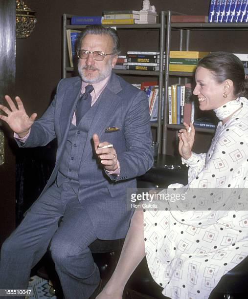 Actor George C Scott and wife actress Trish Van Devere attend the Movie Movie Premiere Party on November 20 1978 at Excelsior Club in New York City