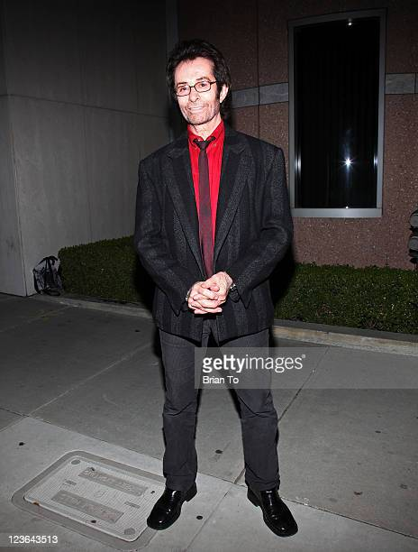 Actor George Chakiris attends grand re-opening of the Charles Aidikoff screening room at the Aidikoff screening room Lightyear Entertainment Center...