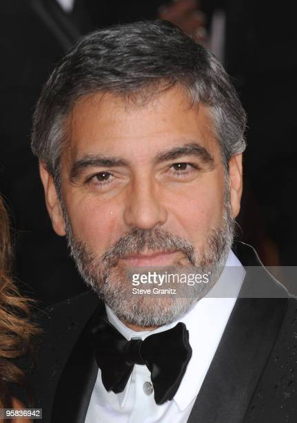 Actor George Clooney arrives at the 67th Annual Golden Globe Awards at The Beverly Hilton Hotel on January 17 2010 in Beverly Hills California