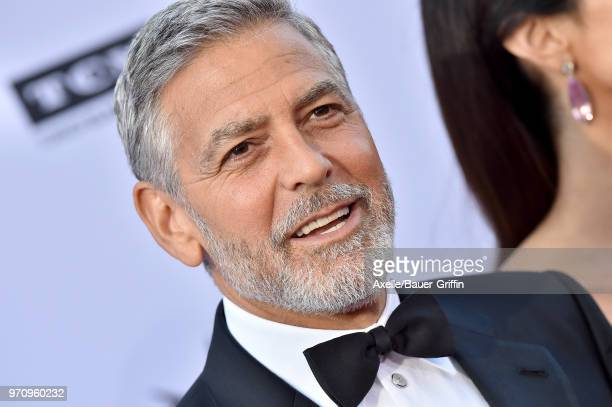 Actor George Clooney arrives at the American Film Institute's 46th Life Achievement Award Gala Tribute to George Clooney on June 7 2018 in Hollywood...