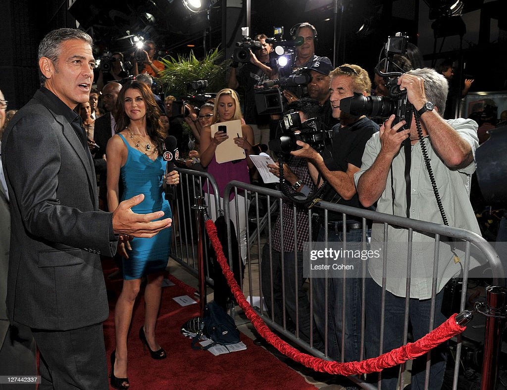 Ides Of March News: Actor George Clooney Arrives At The 'Ides Of March' Los