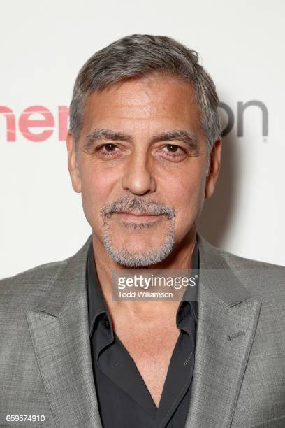 Actor George Clooney at CinemaCon 2017 Paramount Pictures Presentation Highlighting Its Summer of 2017 and Beyond at The Colosseum at Caesars Palace...