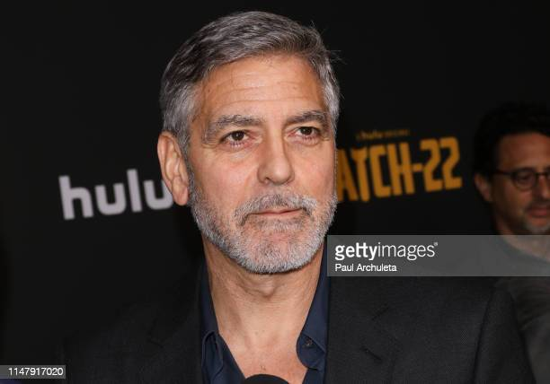 "Actor George Clooney attend the FYC screening of Hulu's ""Catch-22"" at the Saban Media Center on May 08, 2019 in North Hollywood, California."