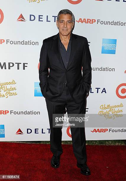Actor George Clooney attends MPTF's 95th anniversary celebration 'Hollywood's Night Under The Stars' on October 1 2016 in Los Angeles California