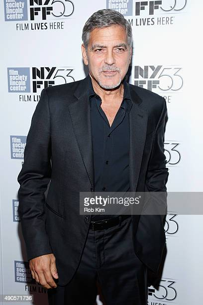 Actor George Clooney attends the 15th anniversary screening of 'O Brother Where Art Thou' during the 53rd New York Film Festival at Alice Tully Hall...