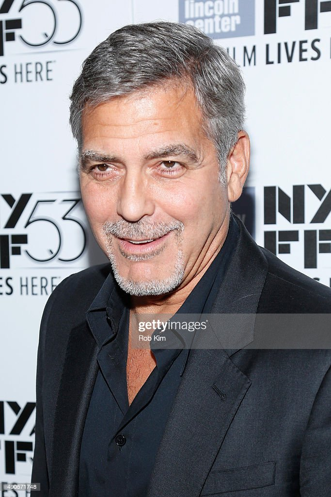 Actor George Clooney attends the 15th anniversary screening of 'O Brother, Where Art Thou?' during the 53rd New York Film Festival at Alice Tully Hall on September 29, 2015 in New York City.