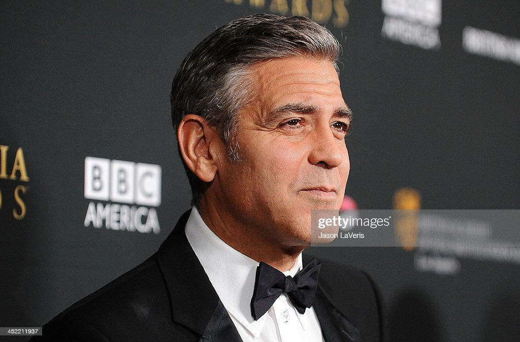 Actor George Clooney attends the BAFTA Los Angeles Britannia Awards at The Beverly Hilton Hotel on November 9, 2013 in Beverly Hills, California.
