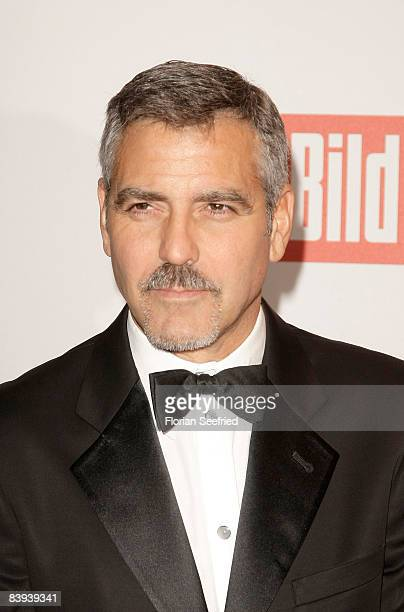 Actor George Clooney attends the Ein Herz fuer Kinder Gala at Ullsteinhall at Axel Springer Building on December 6 2008 in Berlin Germany