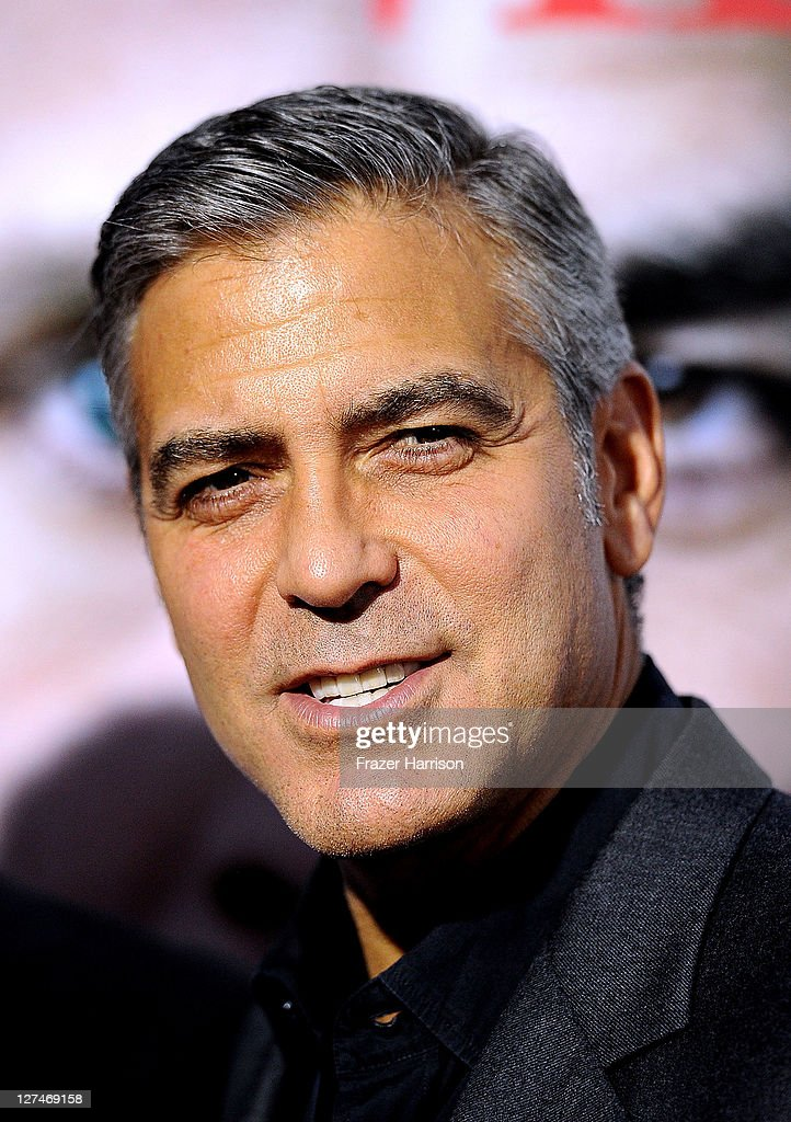 Actor George Clooney attends the Premiere of Columbia Pictures' 'The Ides Of March' held at the Academy of Motion Picture Arts and Sciences' Samuel Goldwyn Theatre on September 27, 2011 in Beverly Hills, California.