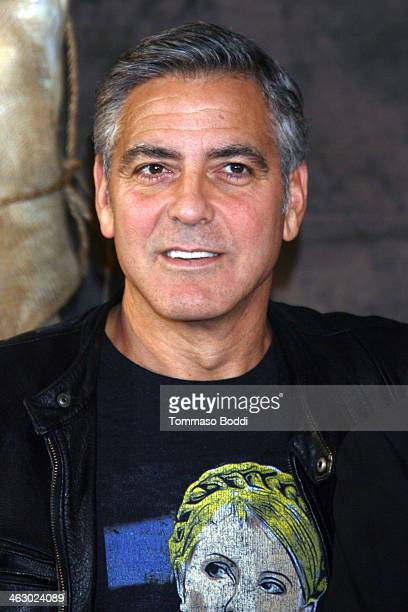 """Actor George Clooney attends the """"The Monuments Men"""" Los Angeles photo call held at the Four Seasons Hotel Los Angeles at Beverly Hills on January..."""