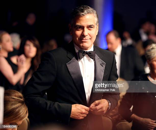 Actor George Clooney during the 26th Anniversary Carousel Of Hope Ball presented by MercedesBenz at The Beverly Hilton Hotel on October 20 2012 in...