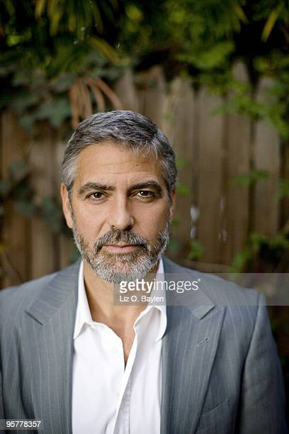Actor George Clooney poses at a portrait session for the Los Angeles Times in Beverly Hills CA on January 13 2010 Published Image CREDIT MUST READ...