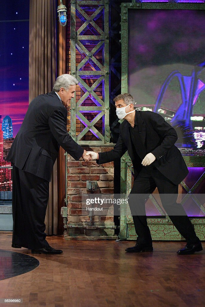 George Clooney Guest On 'Tonight Show' : ニュース写真