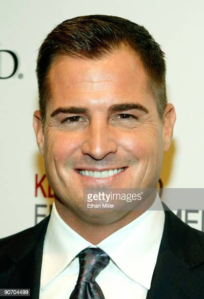 Actor George Eads arrives at the grand opening of the CSI The Experience attraction at MGM Grand Hotel/Casino September 12 2009 in Las Vegas Nevada