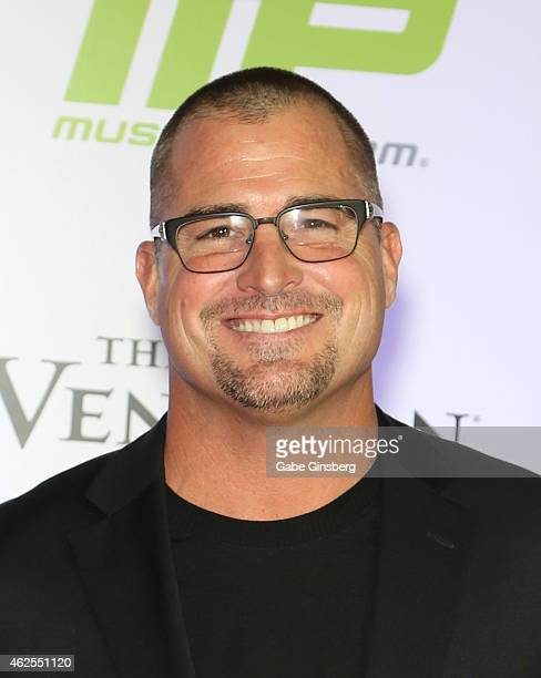 Actor George Eads arrives at the seventh annual Fighters Only World Mixed Martial Arts Awards at The Palazzo Las Vegas on January 30 2015 in Las...