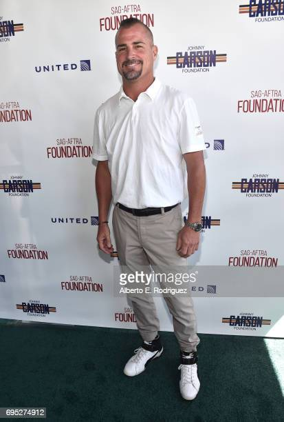 Actor George Eads attends the SAGAFTRA Foundation 8th Annual LA Golf Classic Fundraiser at Lakeside Golf Club on June 12 2017 in Los Angeles...