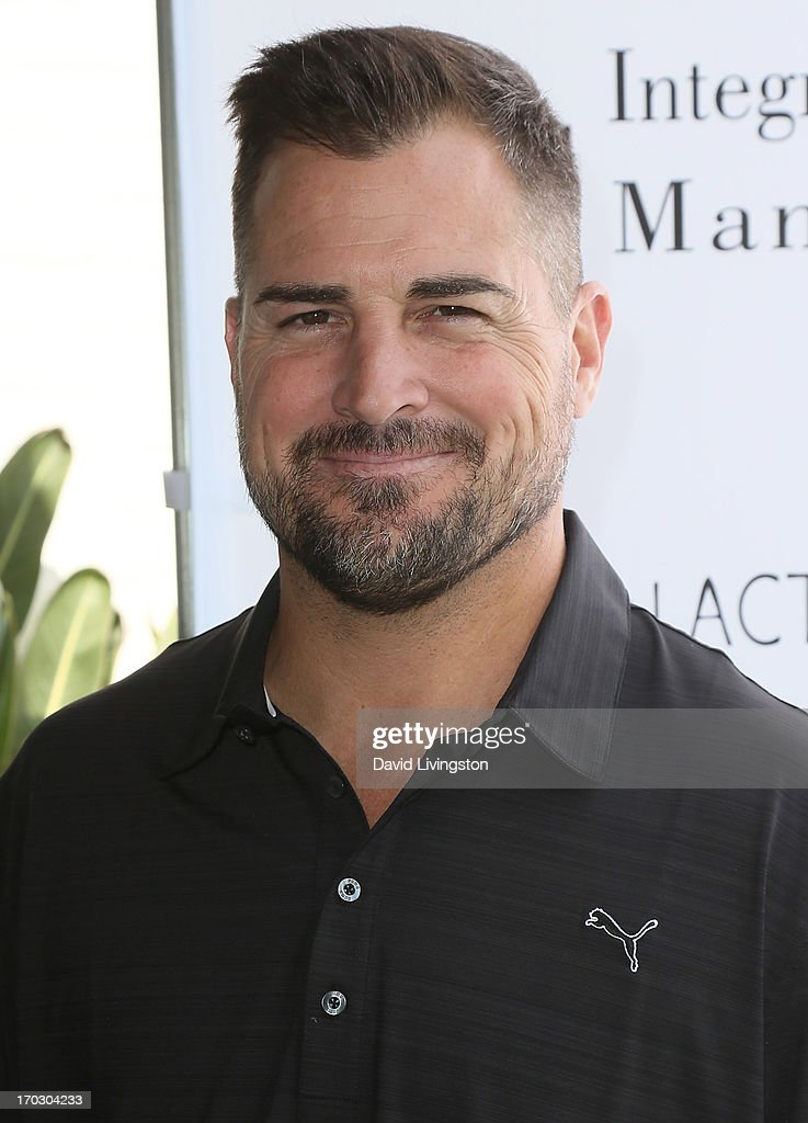 Actor George Eads attends the Screen Actors Guild Foundation 4th Annual Los Angeles Golf Classic at Lakeside Golf Club on June 10, 2013 in Burbank, California.